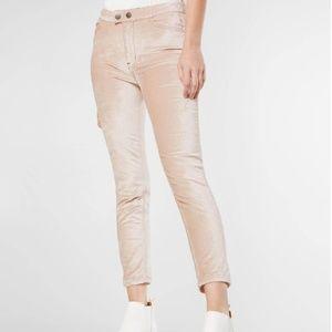 Free People Sweet Jane Velvet Skinny Jeans Pants